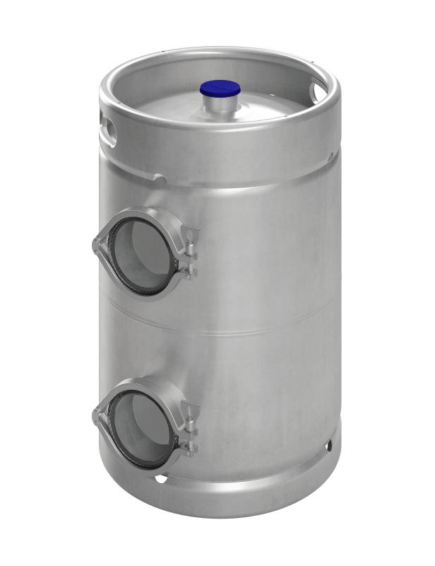 Inspection-keg