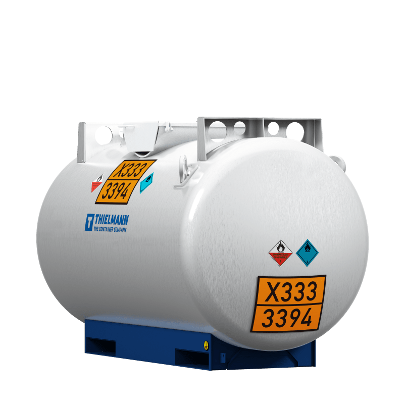 Alkali-tank-container
