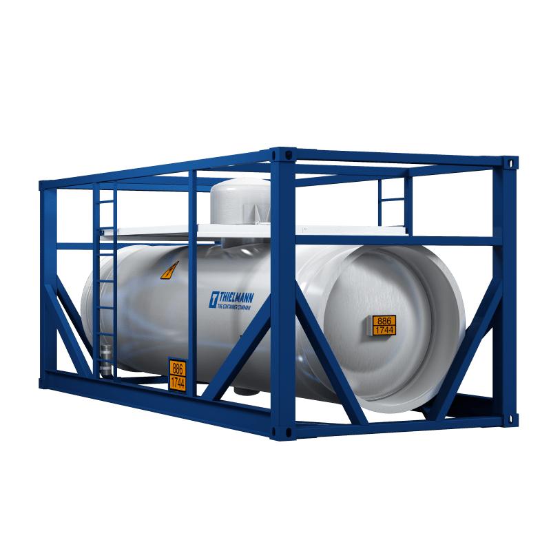 Inorganic-chemical-container